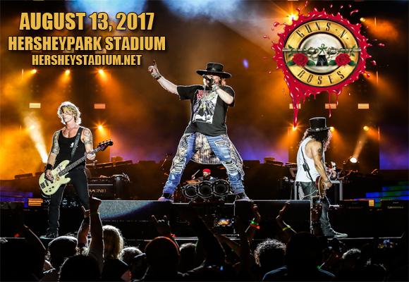 Guns N' Roses at Hersheypark Stadium