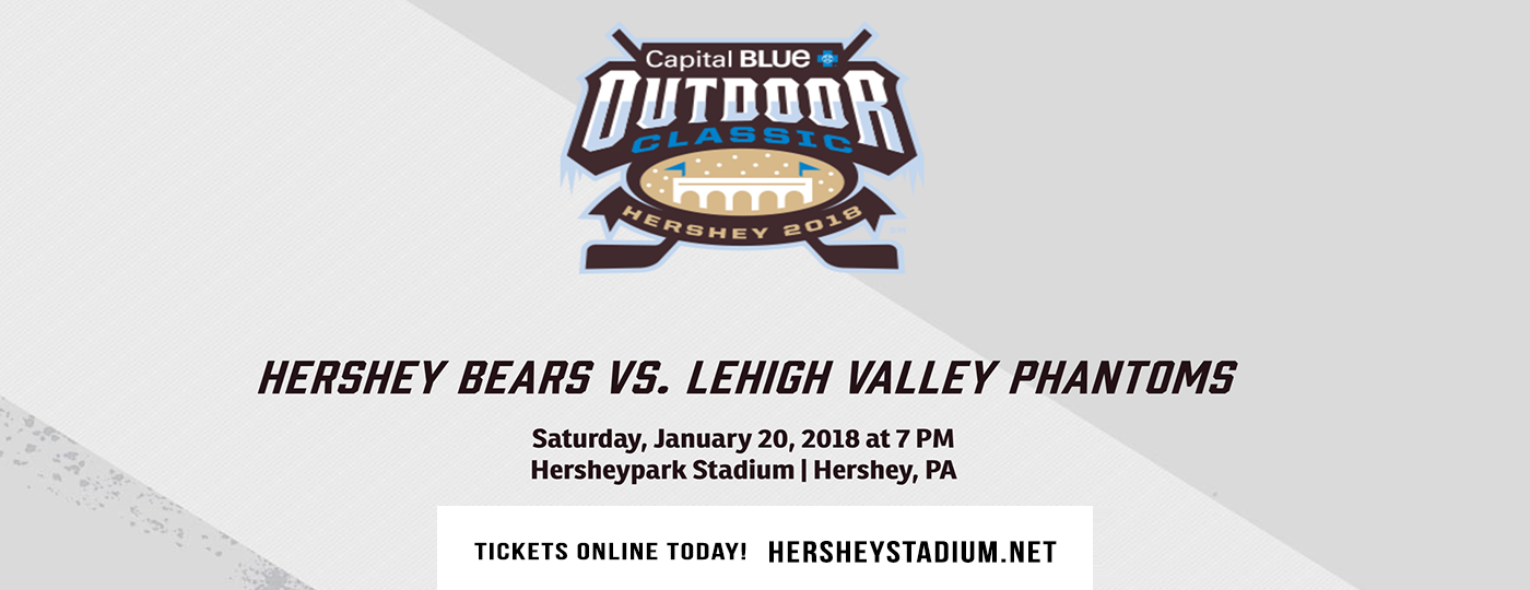 Capital Blue Cross Outdoor Classic: Lehigh Valley Phantoms vs. Hershey Bears at Hersheypark Stadium