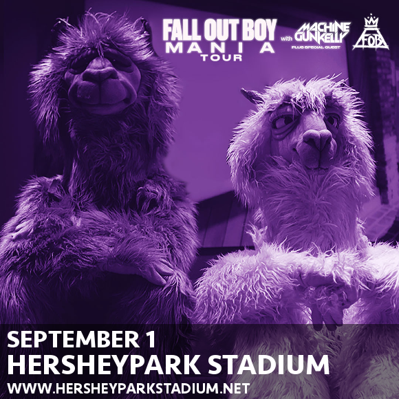 Fall Out Boy & Machine Gun Kelly at Hersheypark Stadium