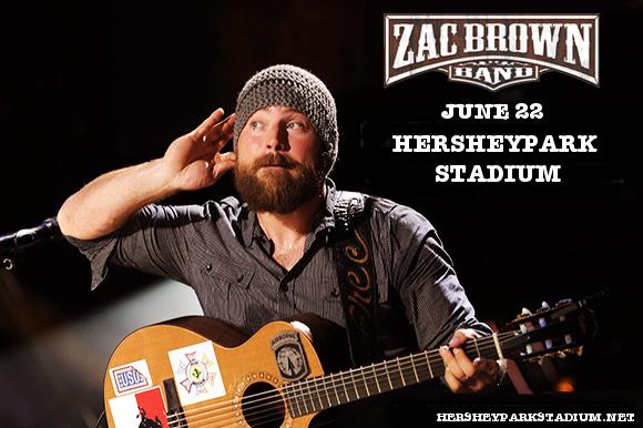 Zac Brown Band at Hersheypark Stadium