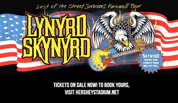 Lynyrd Skynyrd at Hersheypark Stadium