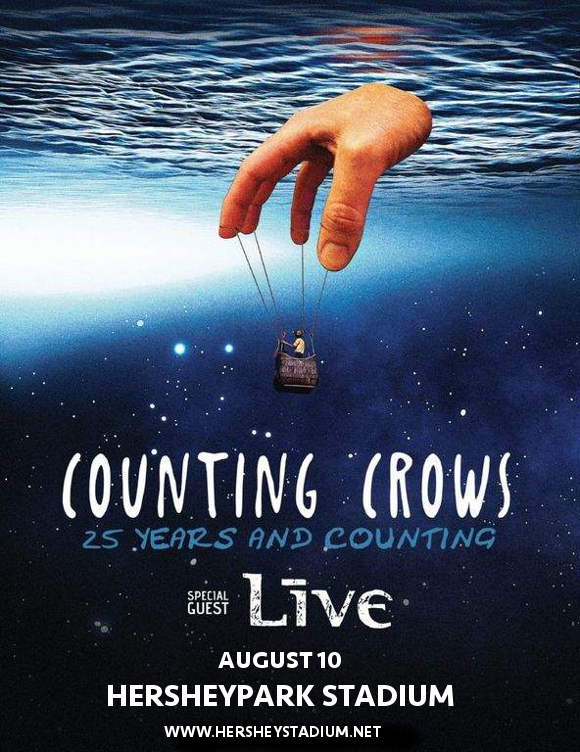 Counting Crows & Live - Band at Hersheypark Stadium