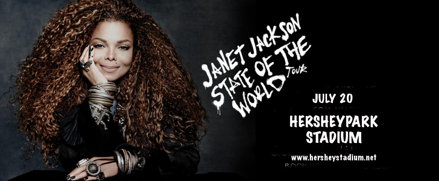 Janet Jackson at Hersheypark Stadium