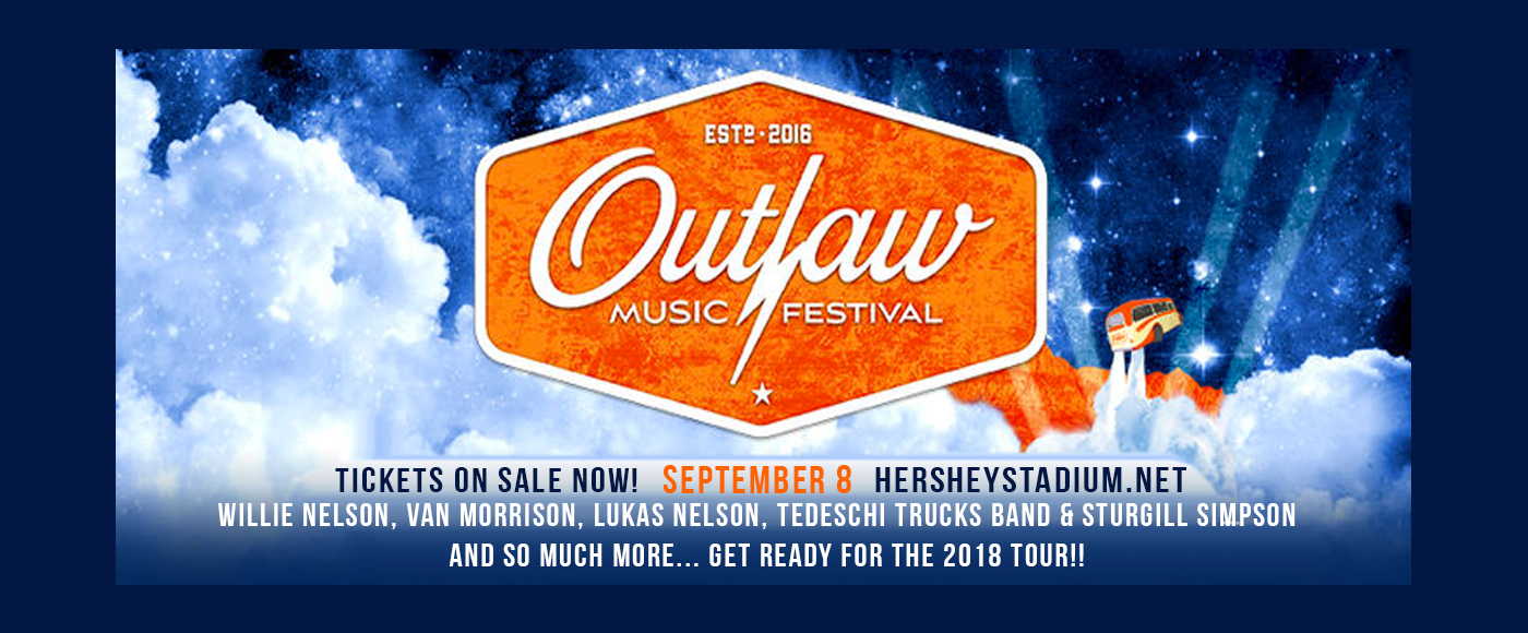 Outlaw Music Festival: Willie Nelson, Van Morrison, Lukas Nelson and The Promise of The Real, Tedeschi Trucks Band & Sturgill Simpson at Hersheypark Stadium