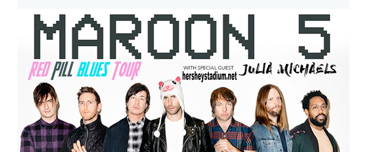 Maroon 5 at Hersheypark Stadium