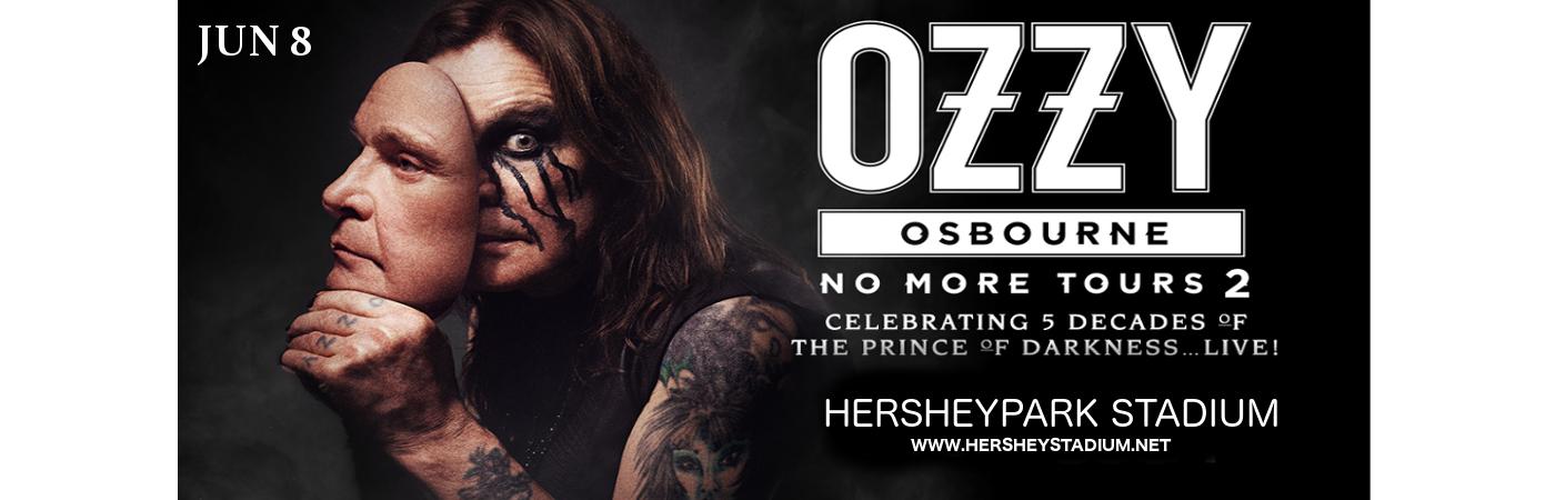 Ozzy Osbourne & Megadeth at Hersheypark Stadium