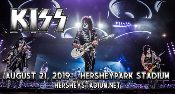 Kiss at Hersheypark Stadium