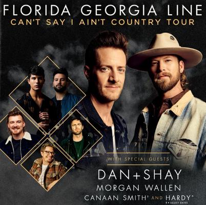 Florida Georgia Line, Dan and Shay & Morgan Wallen at Hersheypark Stadium