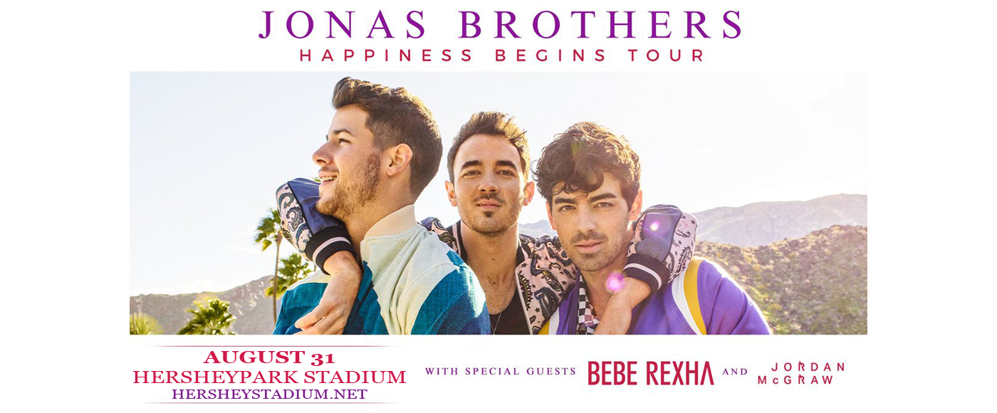 Jonas Brothers at Hersheypark Stadium
