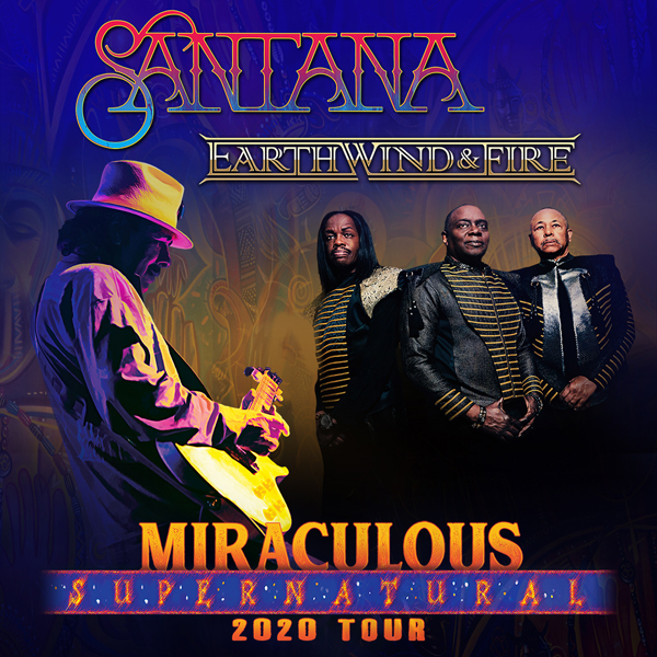 Santana & Earth, Wind and Fire at Hersheypark Stadium