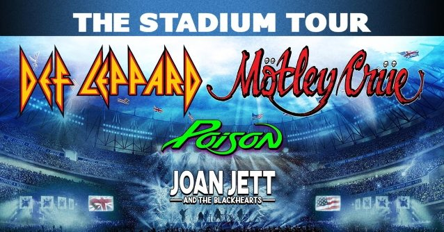 The Stadium Tour: Motley Crue, Def Leppard, Poison & Joan Jett and The Blackhearts at Hersheypark Stadium